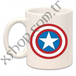 Captain America Kaptan Amerika Kupa Mug