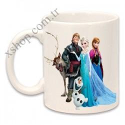 Frozen Karlar Ülkesi Elsa Anna Kupa Mug