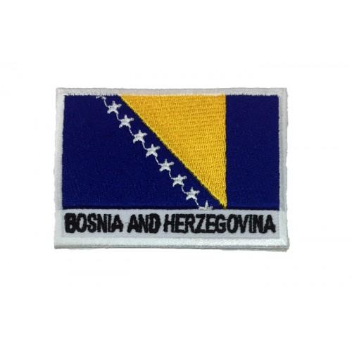 Bosna Hersek Bayrak Patches Arma Yama