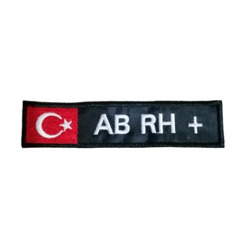 AB RH (+) Pozitive Bayraklı Patches Arma Yama Peç