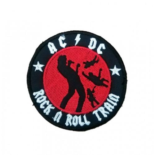 Acdc Rock'n Roll Train Patches Arma Peç Kot Yaması