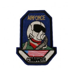 Airforce Commander Military Patches Arma Peç Kot Yaması