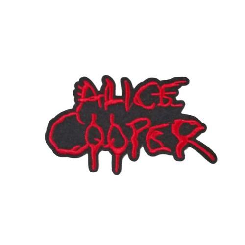 Alice Cooper Rock Metal Patches Arma Peç Kot Yaması