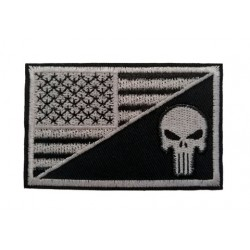 Amerikan Bayraklı Punisher Patches Arma Peç Kot Yaması