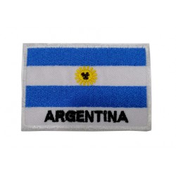 Arjantin Bayraklı Patches Arma Peç Kot Yaması