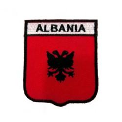 Arnavutluk Bayraklı Patches Arma Peç Kot Yaması 4