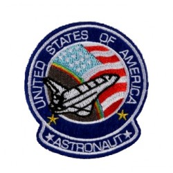 Astronot Usa Patches Arma Peç Kot Yaması