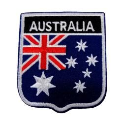 Avustralya Bayraklı Patches Arma Peç Kot Yaması