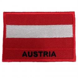 Avusturya Bayraklı Patches Arma Yama Peç