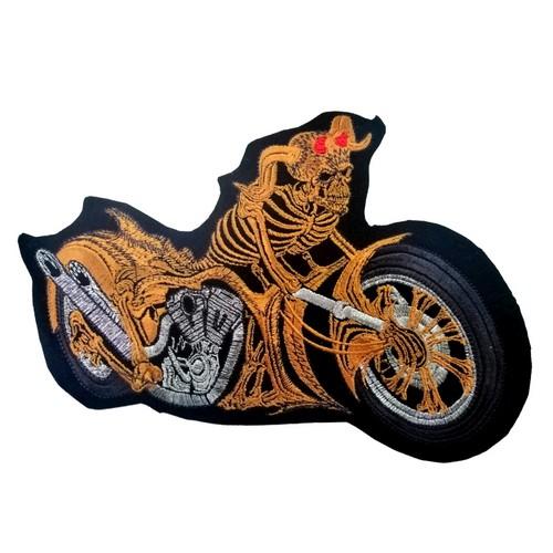Bike Motor Motorcu Patches Arma Peç Kot Yaması