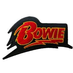 Bowie Rock Metal Patches Arma Peç Kot Yaması