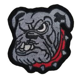Bulldog Köpek Patches Arma Peç Kot Yaması