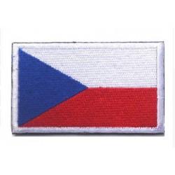 Çek Cumhuriyeti Bayraklı Patches Arma Peç Kot Yaması