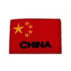Çin Bayraklı Patches Arma Peç Kot Yaması