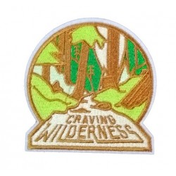 Craving Wilderness Outdoors Patches Arma Peç Kot Yaması