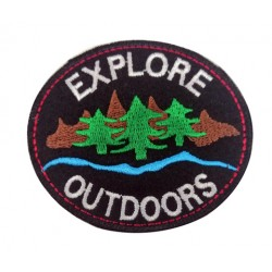Explore Outdoors Patches Arma Peç Kot Yaması