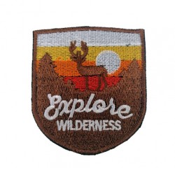 Explore Wilderness Outdoors Patches Arma Peç Kot Yaması