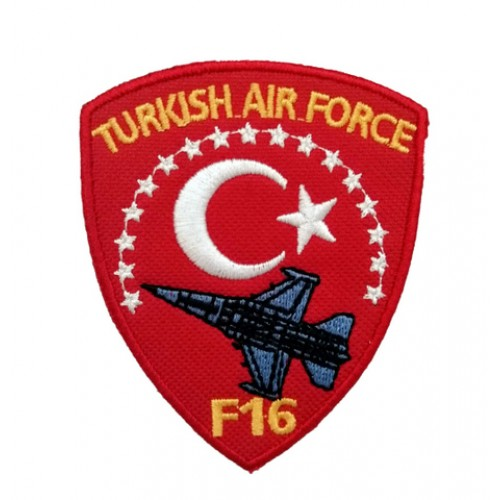 F16 Turkish Air Force Patches Arma Yama Peç 1