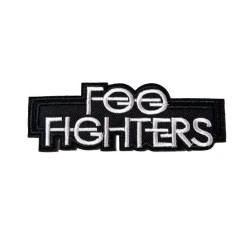 Foo Fighters Rock Metal Patches Arma Peç Kot Yaması 1