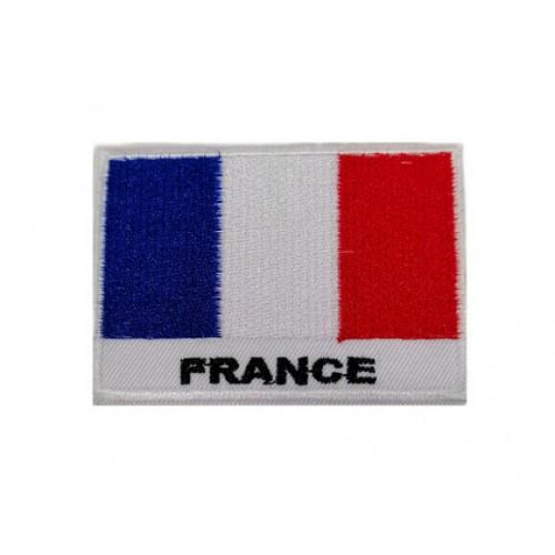 Fransa Bayraklı Patches Arma Peç Kot Yaması 1