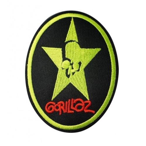 Gorillaz Rock Metal Patches Arma Peç Kot Yaması