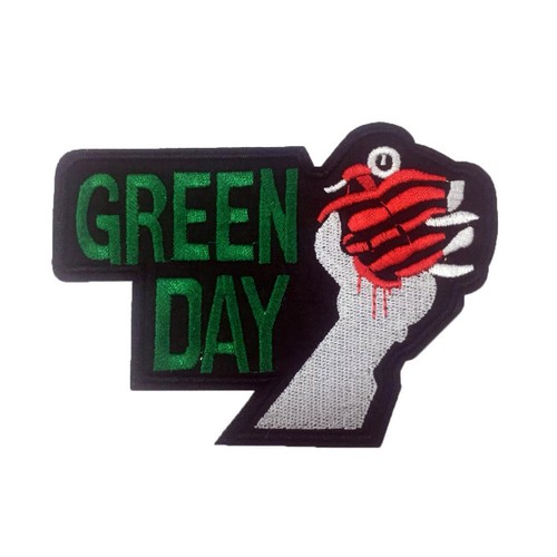 Green Day Patches Arma Yama Peç 2