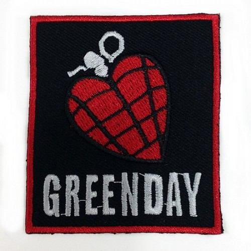Green Day Patches Arma Yama 1