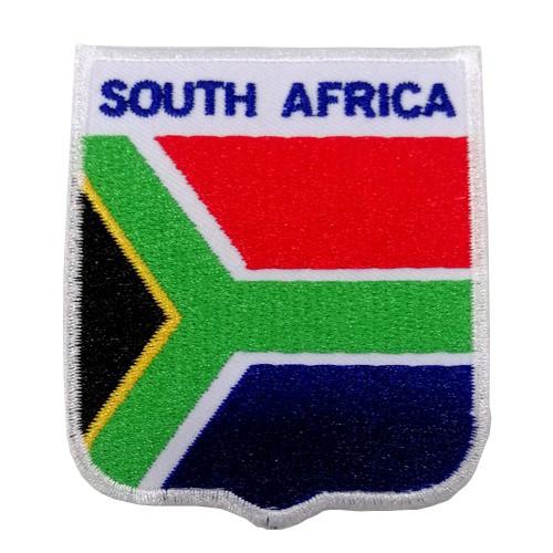 Güney Afrika Bayraklı Patches Arma Peç Kot Yaması