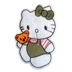 Hello Kitty Çizgi Film Büyük Patches Arma Peç Kot Yaması