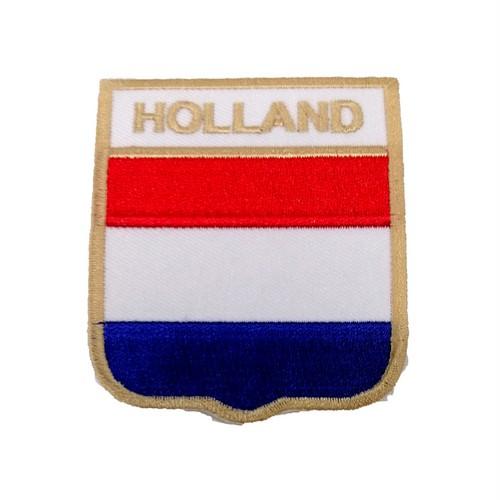 Hollanda Bayraklı Patches Arma Peç Kot Yaması