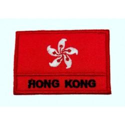 Hong Kong Bayraklı Patches Arma Peç Kot Yaması