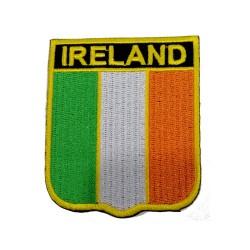 İrlanda Bayraklı Patches Arma Peç Kot Yaması
