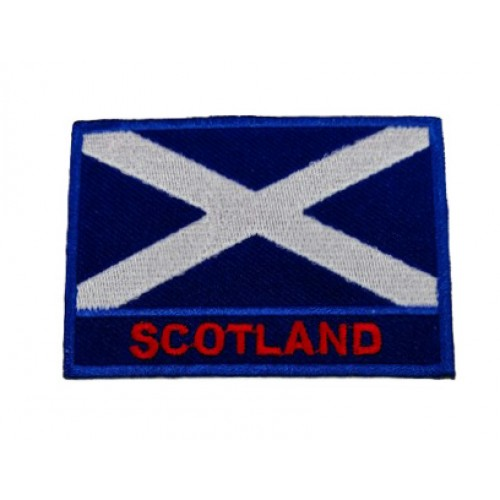 İskoçya Bayraklı Patches Arma Peç Kot Yaması