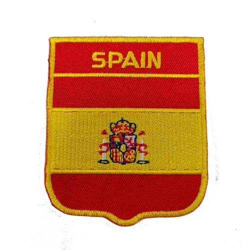 İspanya Bayraklı Patches Arma Peç Kot Yaması