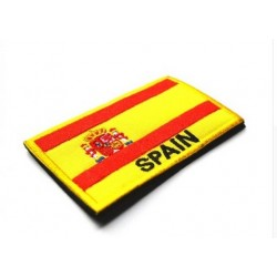 İspanya Bayraklı Patches Arma Peç Kot Yaması 1
