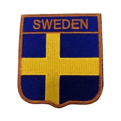 İsveç Bayraklı Patches Arma Peç Kot Yaması 1