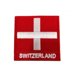 İsviçre Bayraklı Patches Arma Peç Kot Yaması