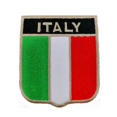 İtalya Bayraklı Patches Arma Peç Kot Yaması