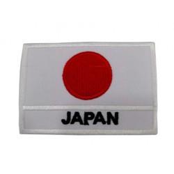Japonya Bayraklı Patches Arma Peç Kot Yaması