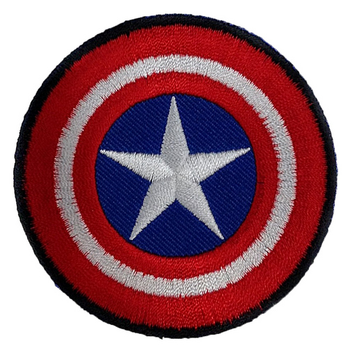 Kaptan Amerika Film Logo Patches Arma Yama