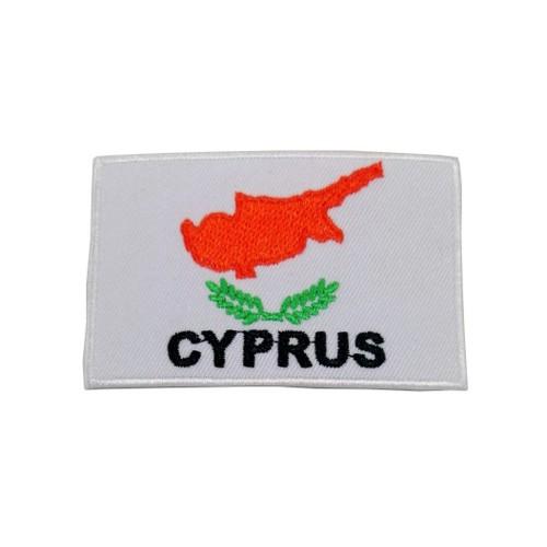 Kıbrıs Bayraklı Patches Arma Peç Kot Yaması