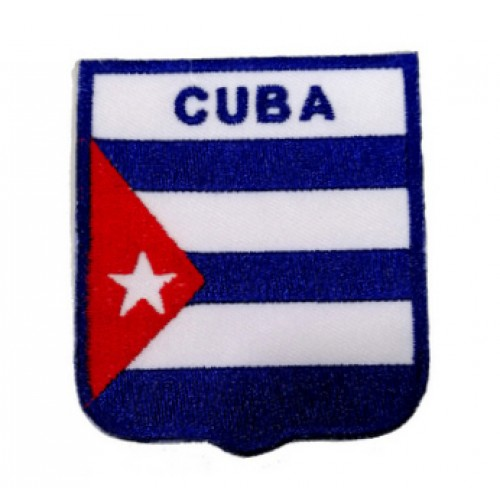 Küba Bayraklı Patches Arma Peç Kot Yaması