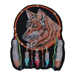 Kurt Wolf Dreamcatcher Patches Arma Peç Kot Yaması