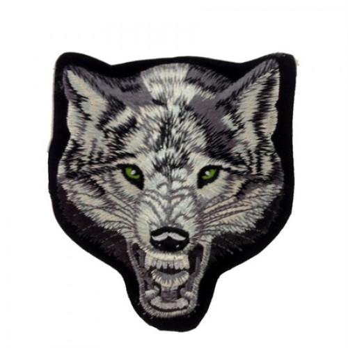 Kurt Wolf Patches Arma Yama Peç Büyük Boy