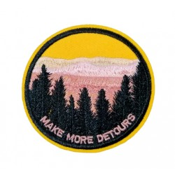 Make More Detours Outdoors Patches Arma Peç Kot Yaması