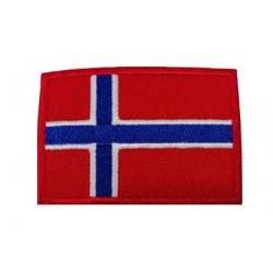 Norveç Bayraklı Patches Arma Peç Kot Yaması