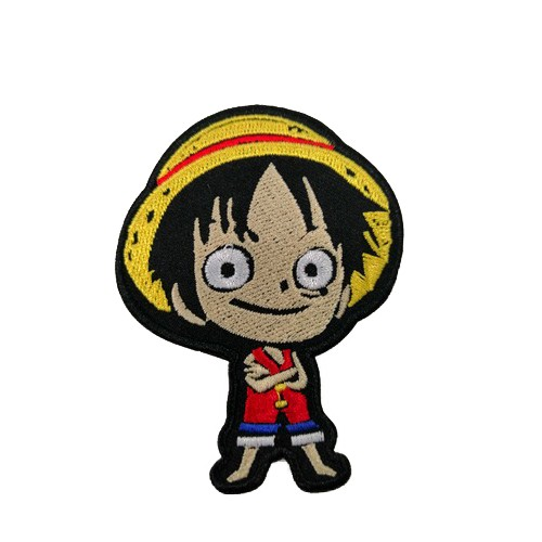 One Piece Luffy Anime Film Patches Arma Peç Kot Yaması
