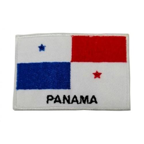 Panama Bayraklı Patches Arma Peç Kot Yaması