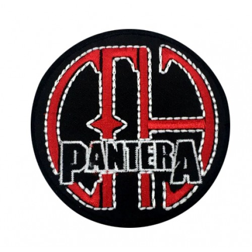 Pantera Rock Metal Patches Arma Peç Kot Yaması