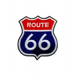 Route 66 Patches Arma Peç Kot Yaması 1